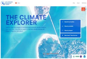 Climate Explorer (Photo: climate.gov)