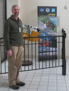 Dean Hinshaw supports the joint NASA-NOAA Joint Polar Satellite System