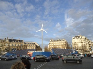Renewable energy generators in Paris (Credits: Tom DiLiberto)