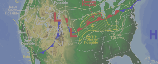 Tracing the Weather: From Field to Forecast