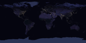 Earth At Night (Photo: http://www.jpss.noaa.gov)